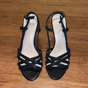 Kate Spade Black sparkles dress sandals